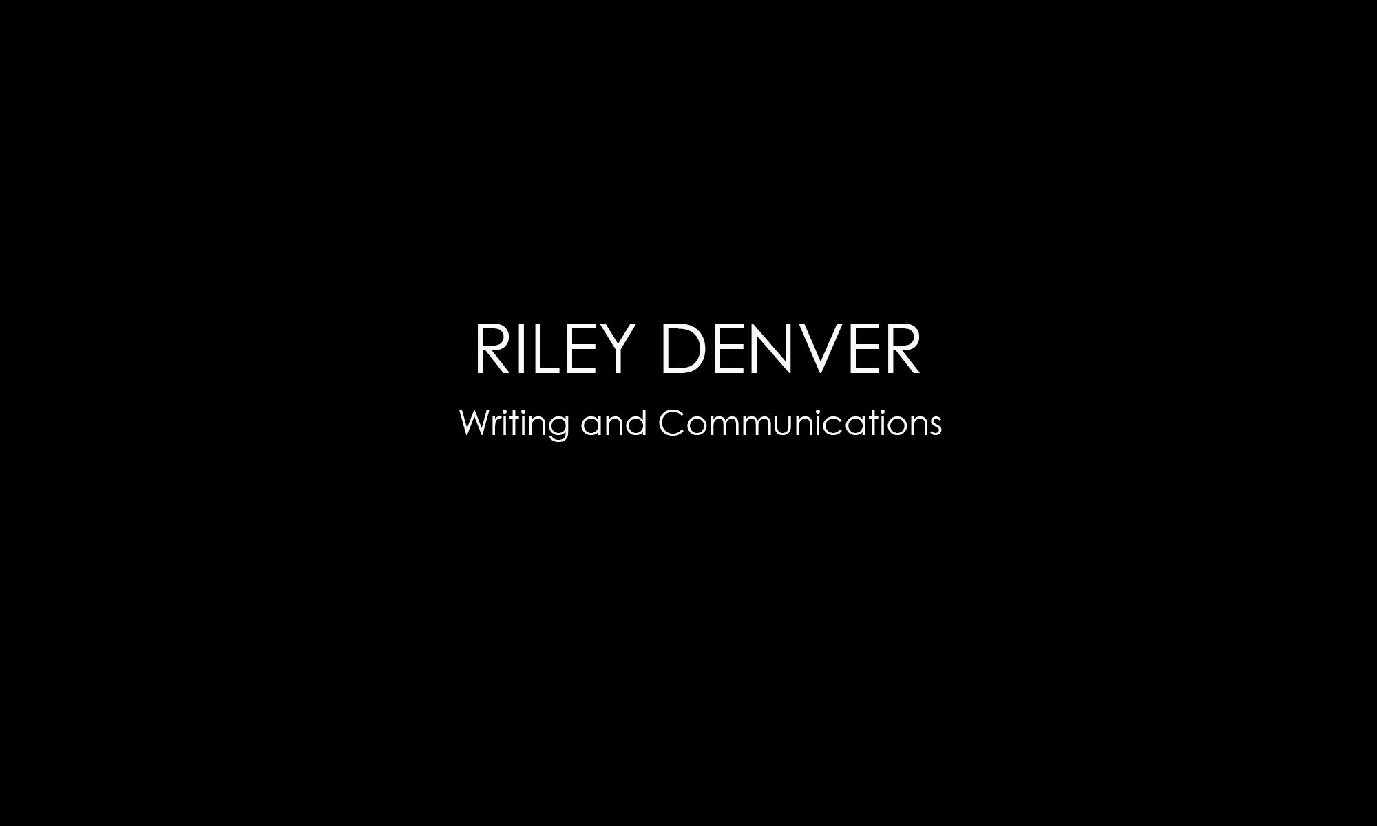 Riley Denver